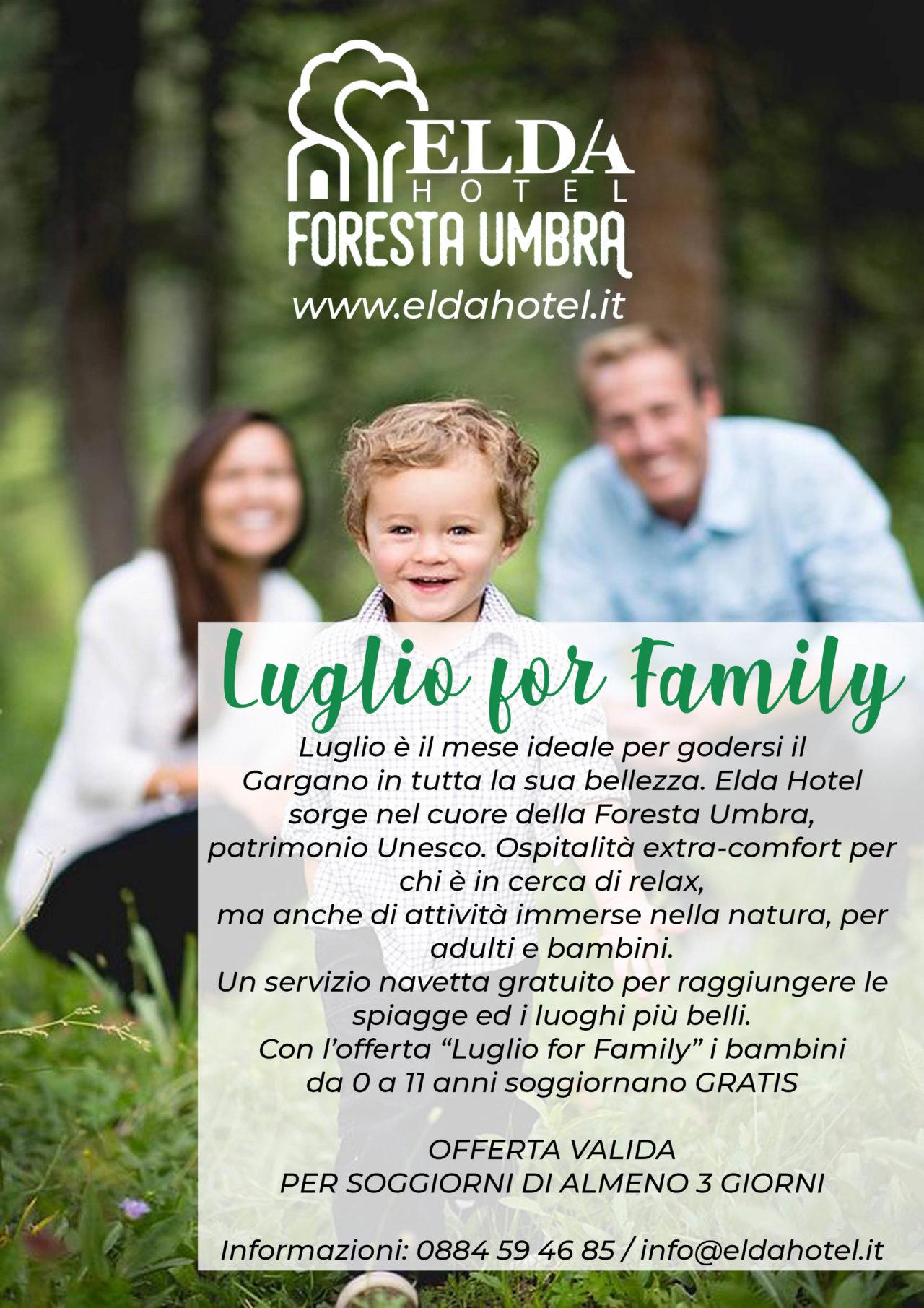 LUGLIO FOR FAMILY