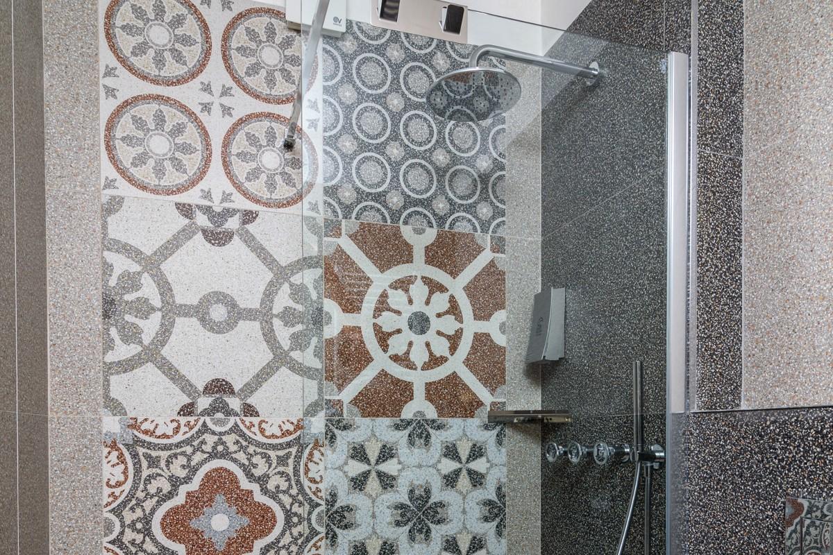 bagno doccia decorazioni